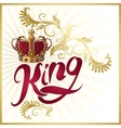 Attribute Of King Design vector image