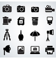 camera accessories vector image