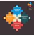 creative puzzle info-graphics vector image