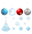 collection christmas vector image