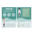 medical template in cartoon style can be used for vector image