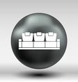 sofa icon button logo symbol concept vector image