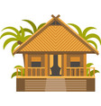 Bungalow House vector image