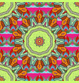 seamless pattern with abstract ornament seamless vector image
