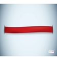textured ribbon vector image