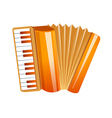 icon accordion vector image vector image