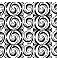 abstract vertical seamless ballpoint waves pattern vector image