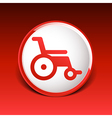 disabled icon sign wheelchair handicap symbol vector image