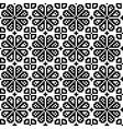 Geometrical flower seamless pattern vector image