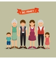 United family graphic vector image