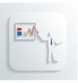 businessman graphic icon vector image