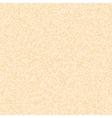 Mixed orange polka dot pattern on beige background vector image