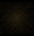 abstract gold glitter design element vector image