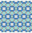 Abstraction in blue vector image