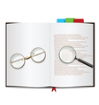 book object vector image