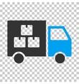 Goods Transportation Car Eps Icon vector image