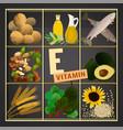 vitamins box image vector image