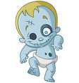zombie baby vector image vector image
