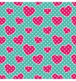Pop Art Hearts vector image