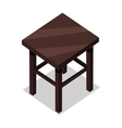 Home and Office Furniture in Isometric Projection vector image