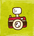 Camera Cartoon vector image