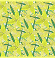 lilies background modern seamless pattern with vector image