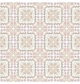 Abstract seamless hand drawn tribal pattern vector image