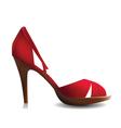 elegant sandal vector image