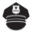 Police cap3 vector image