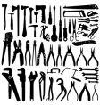 tool set vector image