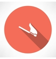 matchstick icon vector image vector image