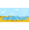 solar energy 2 vector image