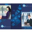 business man woman vector image vector image