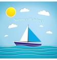 Retro summer vector image vector image