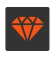 Diamond Icon from Commerce Buttons OverColor Set vector image