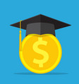 investment in education concept vector image vector image