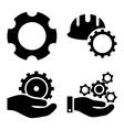 Development Flat Icons vector image