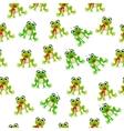 frog prince or princess vector image
