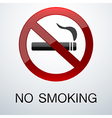 No smoking background vector image