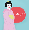 Stock Photo Geisha vector image