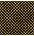 Black and gold pattern Abstract polka dot vector image