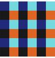 Blue Orange Chess Board Background vector image