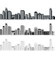 cities vector image