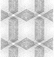 seamless pattern rhombuses vector image