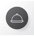 tray icon symbol premium quality isolated platter vector image