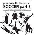 Premium Soccer Part 3 vector image