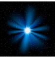 stars sky vector image