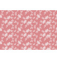 seamless floral pattern with tiny elements vector image