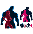 Fit Couple vector image