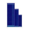 Server and Computer Networking Hardware Icon vector image